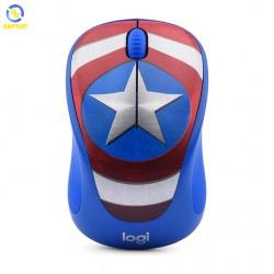 Chuột máy tính Logitech M238 - Captain America (Đội trưởng Mỹ)