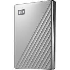 """Ổ cứng gắn ngoài Western My PassPort Ultra Silver 2.5"""" 1TB USB TypeC"""