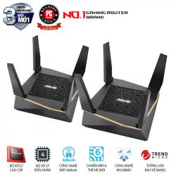 ASUS RT-AX92U 2 Pack (AiMesh Router) Wifi AX6100 3 băng tần, Wifi 6 (802.11ax), AiMesh 360 WIFI Mesh, AiProtection, USB 3.1