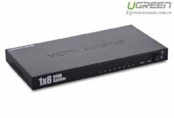 Bộ chia 1 ra 8 cổng HDMI 1.4 Chính hãng Ugreen UG-40203 Cao cấp