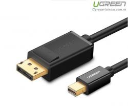 Cáp Mini DisplayPort to Displayport 1.2 dài 1,5M Ugreen 10477 hỗ trợ độ phân giải 4k*2k