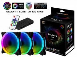 Fan Case Xigmatek GALAXY II ELITE - AY120 ARGB (EN40298) - 3 Fan