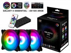 Fan Case Xigmatek GALAXY II ELITE - AX120 ARGB (EN42104) 3 Fan