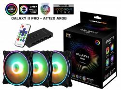 Fan Case Xigmatek GALAXY II PRO - AT120 ARGB (EN42128) 3 Fan