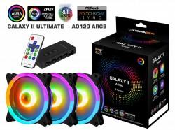 Fan Case Xigmatek GALAXY II UTIMATE - AO120 ARGB (EN42111) 3 Fan