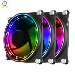 Quạt tản nhiệt cho case GAMEMAX Bộ kit 3 in 1 RB300 Fan 12cm - RGB Rainbow