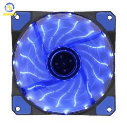 Quạt tản nhiệt cho máy tính GAMEMAX Fan 12cm - Led 15bóng - BLUE