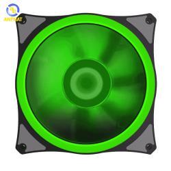 Quạt tản nhiệt cho case GAMEMAX Led Ring Fan 12cm - GREEN