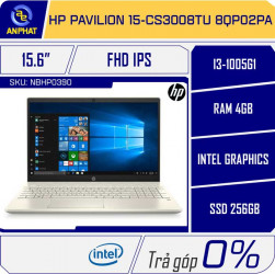 Laptop HP Pavilion 15-cs3008TU 8QP02PA