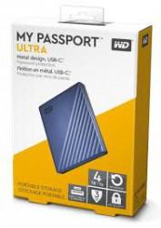"""Ổ cứng gắn ngoài WD My PassPort Ultra 2.5"""" 4TB USB Type C (màu xanh)"""