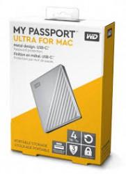 """Ổ cứng gắn ngoài WD My PassPort Ultra 2.5"""" 4TB USB Type C (màu bạc)"""