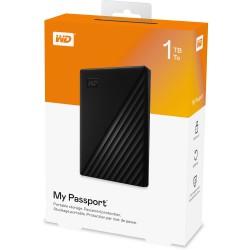 """Ổ cứng di động WD My Passport Portable1TB - 2.5"""" - USB 3.0  - Đen (mới)"""