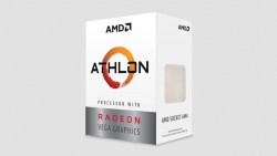 CPU AMD Athlon 3000G / 3.5 GHz / 4 MB Cache L3 / 2 cores / 4 threads/  12nm / Socket AM4/  Radeon Vega3/ 35W