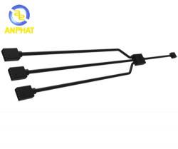 Dây cáp chia led RGB Cable 1 to 3 splitter  ( dành cho fan RGB )