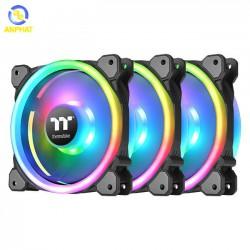 Quạt tản nhiệt Thermaltake Riing Trio 12 LED RGB (3-Fan Pack) CL-F072-PL12SW-A