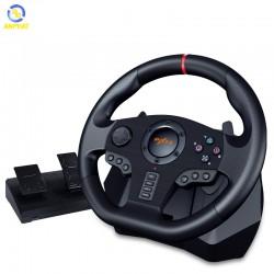 Vô lăng chơi game PXN V900 Gaming Racing Wheel - Vô lăng 270/900 độ, số tự động, Có RUNG hỗ trợ PS3, PS4, Xbox One, Nintendo Switch