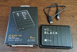 Ổ cứng di động Western BLACK P10 5TB GAME DRIVE (WDBA3A0050BBK ) - NEW