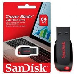 USB SanDisk Cruzer Blade CZ50 -64GB (SDCZ50-064G-B35)
