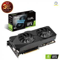 VGA ASUS Dual GeForce RTX 2060 SUPER EVO 8GB GDDR6 (DUAL-RTX2060S-8G-EVO)
