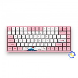 Bàn phím cơ AKKO World Tour - Tokyo 3084 Pink switch
