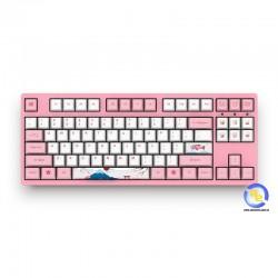 Bàn phím cơ AKKO World Tour - Tokyo 3087 Pink switch