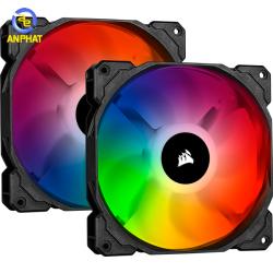 Bộ 2 quạt máy tính 140mm Corsair SP140 PRO RGB LED kèm Node PRO (CO-9050096-WW)