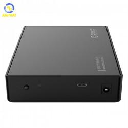 Hộp đựng ổ cứng 3.5/2.5 ORICO 3588C3, kết nối USB 3.0 - Type C