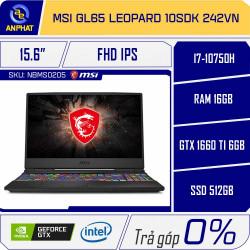 Laptop MSI GL65 Leopard 10SDK 242VN
