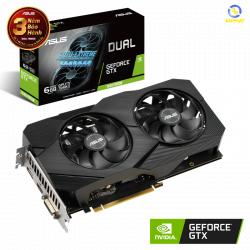 VGA ASUS Dual GeForce GTX 1660 SUPER 6GB GDDR6 EVO OC (DUAL-GTX1660S-O6G-EVO)