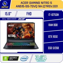 Laptop Acer Gaming Nitro 5 AN515-55-73VQ NH.Q7RSV.001