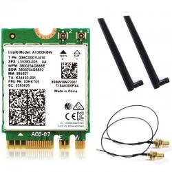 Card WiFi Intel AX200 802.11ax (2400Mbps) Wi-Fi 6