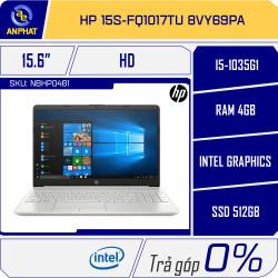 Laptop HP 15s-fq1017TU 8VY69PA (Silver)