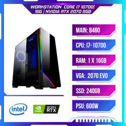 PCAP WORKSTATION  CORE i7 10700| 16G | NVIDIA RTX 2070 8GB