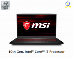 Laptop MSI GF75 Thin 10SCSR 208VN