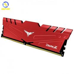 Ram TEAMGROUP DARK Z 8GB (1x8GB) DDR4 3200MHz (Đỏ)