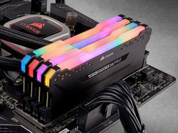 Ram Corsair Vengeance RGB Pro 64GB (2x32GB) DDR4 3200MHz Black