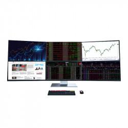 Cấu hình tài chính PCAP TRADER Computing 6 Monitor - Nhu cầu theo dõi cổ phiếu, Forex,chứng khoán