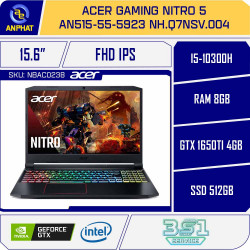 Laptop Acer Gaming Nitro 5 AN515-55-5923 NH.Q7NSV.004 - 144Hz