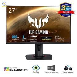 """Màn Hình Game Cong ASUS TUF Gaming VG27WQ 27"""" 2K HDR400 165Hz 1ms MPRT G-SYNC Compatible 2 Loa FreeSync"""