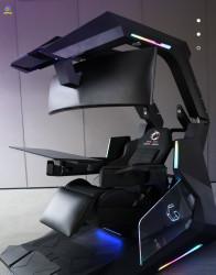 Ghế chơi game đa chức năng tự động Ingrem DXracer Gaming Workstation J20 Plus LCD LED Control Panel Automatic