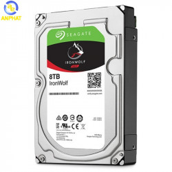 Ổ cứng Seagate Ironwolf 8TB NAS SATA 7200rpm 256MB cache (ST8000VN004)