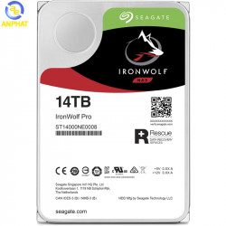 Ổ cứng Seagate Ironwolf Pro 14TB SATA 7200rpm (ST14000NE0008)