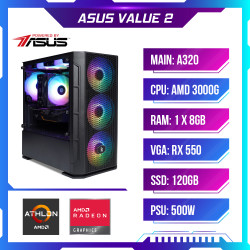 PC Gaming-Máy tính chơi game PCAP ASUS VALUE 2