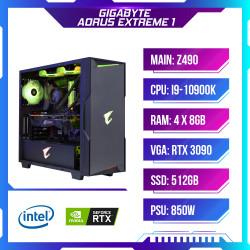 Máy tính chơi game PCAP GIGABYTE AORUS EXTREME 1