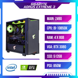 Máy tính chơi game PCAP GIGABYTE AORUS EXTREME 3