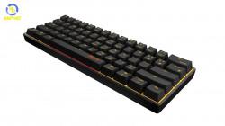 Bộ chuột bàn phím cơ không dây PXN K30 Đen ( Black ) - Mechanic Gaming Keyboard wireless for Android / iOS / PC