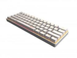 Bộ chuột bàn phím cơ không dây PXN K30 Trắng ( White ) - Mechanic Gaming Keyboard wireless for Android / iOS / PC