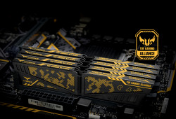 Ram TEAMGROUP VULCAN TUF Gaming Alliance 8GB (1x8GB) DDR4 3200MHz