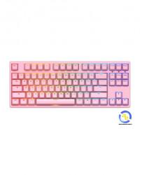 Bàn phím cơ AKKO 3087s RGB Pink Akko Orange switch