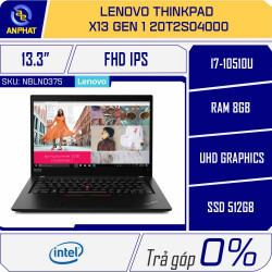 Laptop Lenovo ThinkPad X13 Gen 1 20T2S04000